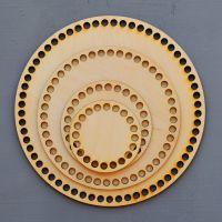 Донышко, форма круг, 200*3 мм