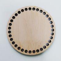 Донышко, форма круг, 120*6 мм
