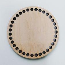 Донышко, форма круг, 100*6 мм