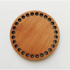 Донышко, форма круг, 100*6 мм, цвет дуб