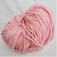 Шнур полиэфирный 5 мм, цвет сакура