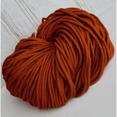Шнур полиэфирный 5 мм, цвет горчица