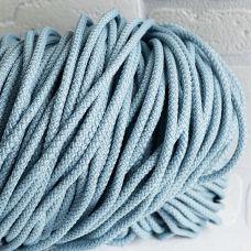 Шнур полиэфирный 5 мм, цвет серо-голубой 135