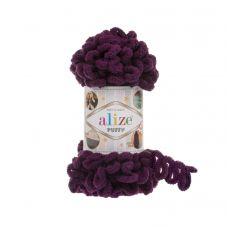 Пряжа Alize Puffy, цвет 111 (сливовый)