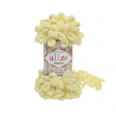 Alize Puffy, цвет 13 (светло-жёлтый)