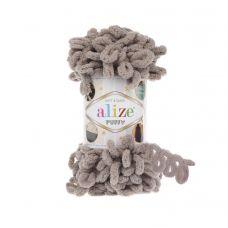 Пряжа Alize Puffy, цвет 268 (молочно-бежевый)