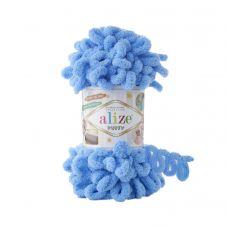 Пряжа Alize Puffy, цвет 289 (синий)