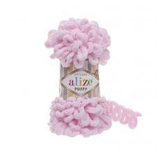 Пряжа Alize Puffy, цвет 31 (детский розовый)