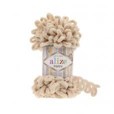 Пряжа Alize Puffy, цвет 310 (медовый)
