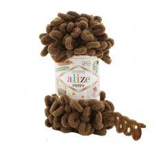 Пряжа Alize Puffy, цвет 321 (кофе мокко)