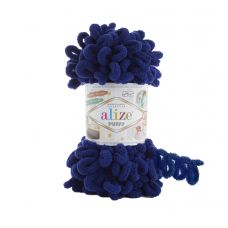Пряжа Alize Puffy, цвет 360 (синий)