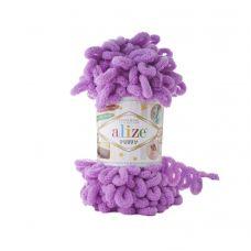 Пряжа Alize Puffy, цвет 378 (орхидея)