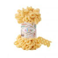 Alize Puffy, цвет 509 (жёлтый)