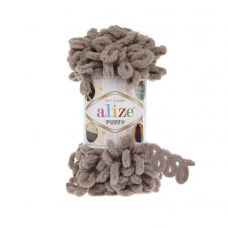 Пряжа Alize Puffy, цвет 530 (бежевый)