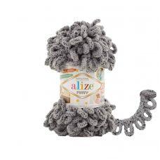 Пряжа Alize Puffy, цвет 535 (коала)