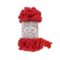 Alize Puffy, цвет 56 (красный)