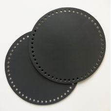 Боковина для сумочки, диаметр 18 см, цвет серый
