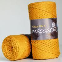 Maccaroni Cotton Filled 3 mm, цвет медовый