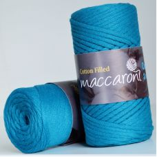 Maccaroni Cotton Filled 3 mm, цвет синий