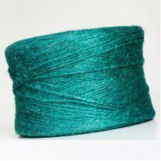 Пряжа Джут, цвет зелёный