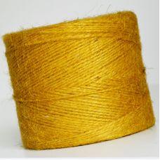 Пряжа Джут, цвет жёлтый