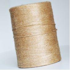 Пряжа Джут, цвет натуральный 1 кг