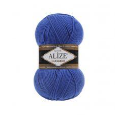 Пряжа Alize Lanagold, цвет 141 (василёк)