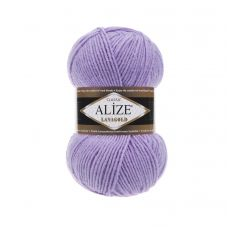 Пряжа Alize Lanagold, цвет 166 (лиловый)