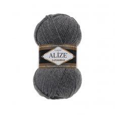 Alize Lanagold, цвет 182 (средне-серый меланж)