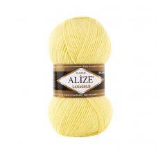 Пряжа Alize Lanagold, цвет 187 (светлый лимон)