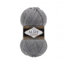 Alize Lanagold, цвет 21 (серый меланж)