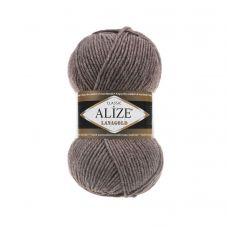 Пряжа Alize Lanagold, цвет 240 (коричневый меланж)