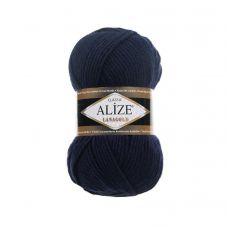 Alize Lanagold, цвет 318 (тёмно-синий)