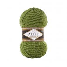 Пряжа Alize Lanagold, цвет 485 (зеленая черепаха)