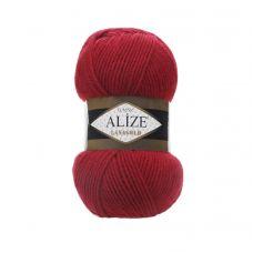 Пряжа Alize Lanagold, цвет 56 (красный)