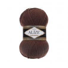 Пряжа Alize Lanagold, цвет 583 (светло-коричневый)