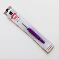 Крючок алюминиевый с пластиковой ручкой 4,0 мм DROPS Pro Circus