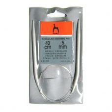 Спицы круговые Pony 5 мм, длина 40 см