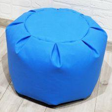 Основа для пуфа, размер 28*40, цвет голубой