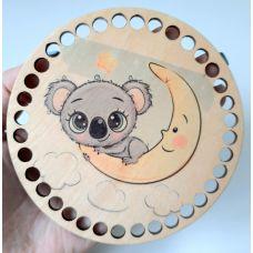 Донышко, форма круг, 120*3 мм, печать 16