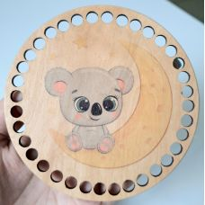 Донышко, форма круг, 120*3 мм, печать 21