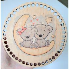 Донышко, форма круг, 150*3 мм, печать 9