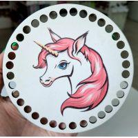 Донышко, форма круг, 120*3 мм, краска+печать 1