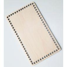 Донышко, форма прямоугольник, 240*140 мм