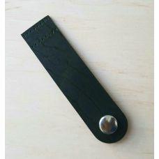 Кнопка для шопера, размер 10*2,5 см, цвет зелёный