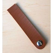 Кнопка для шопера, размер 12*2,5 см, цвет сепиа