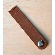 Кнопка для шопера, размер 10*2 см, цвет сепиа