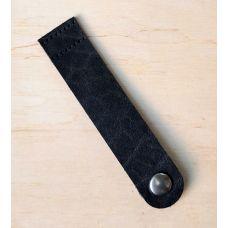 Кнопка для шопера, размер 12*2,5 см, цвет чёрный