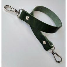 Ремень не регулируемый, размер 46 * 2 см, цвет зелёный