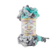 Alize Puffy Color, цвет 6076